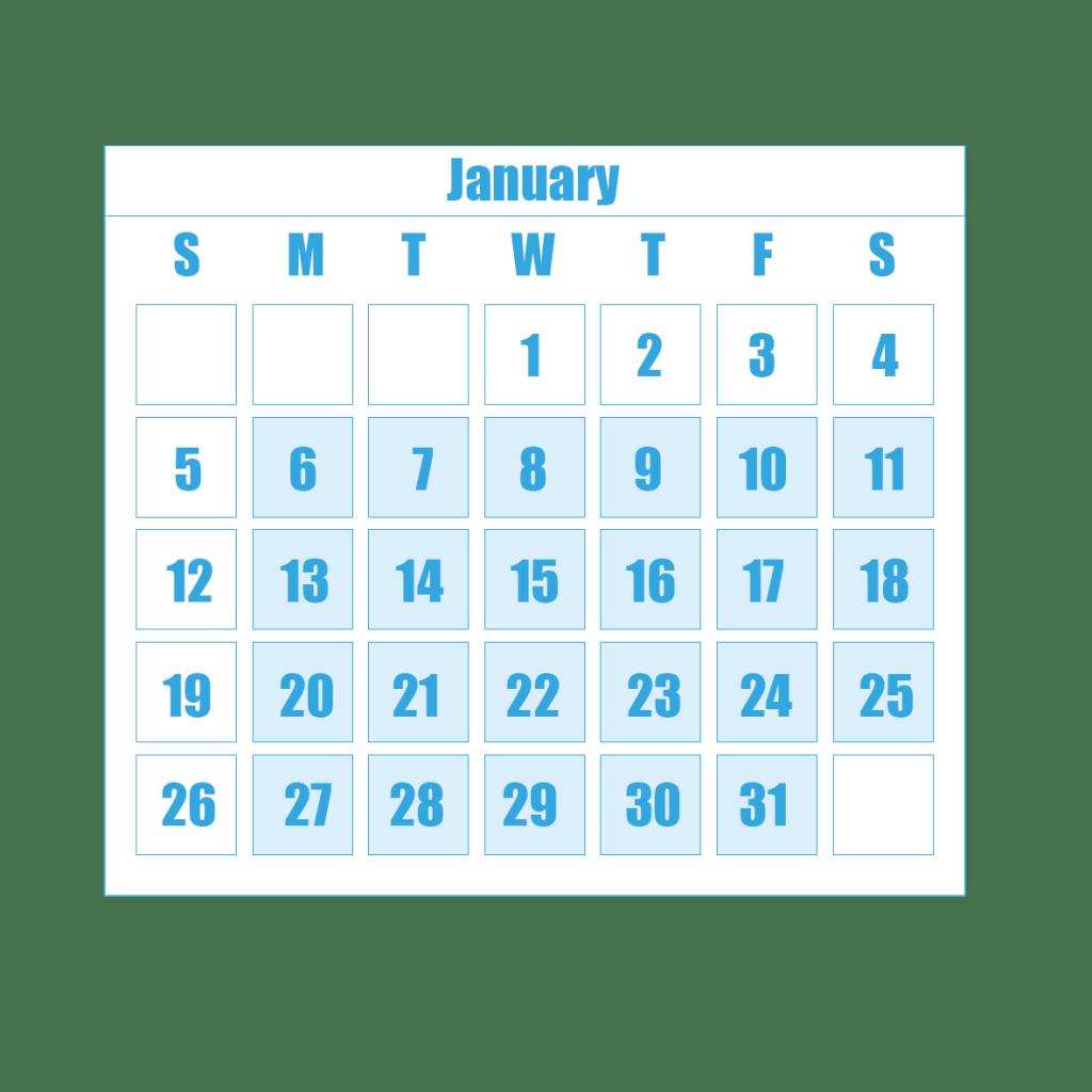 New Term Dates 1