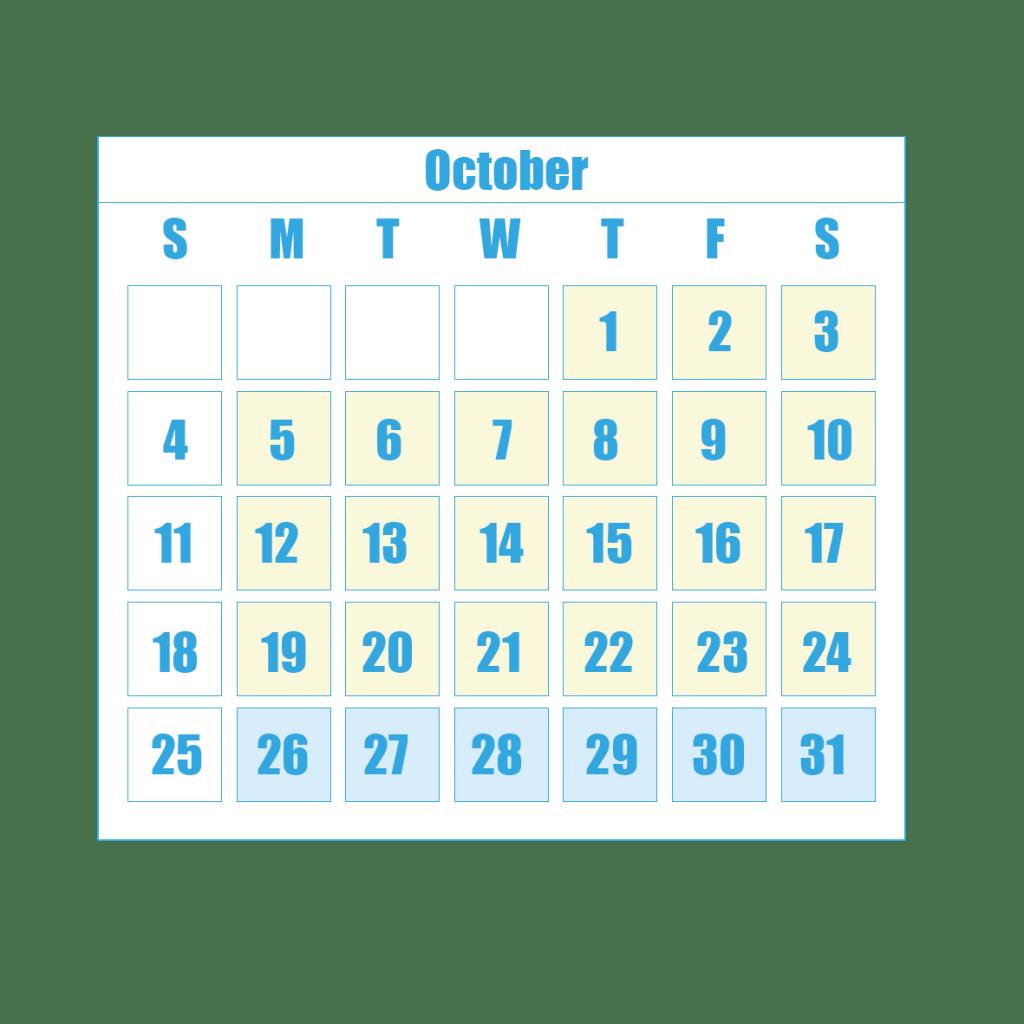 New Term Dates 10