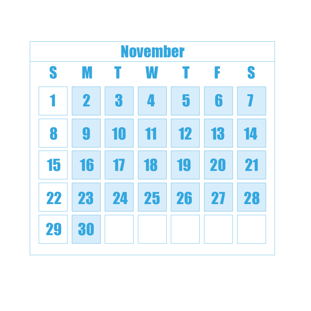 New Term Dates 11