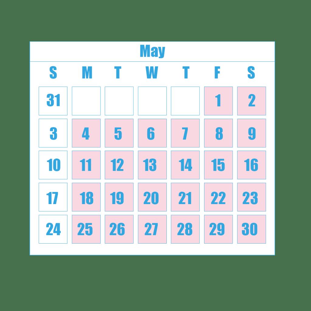 New Term Dates 5