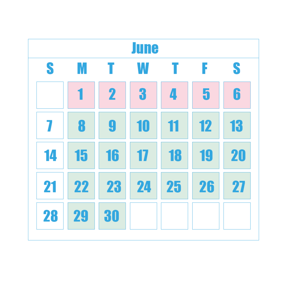 New Term Dates 6