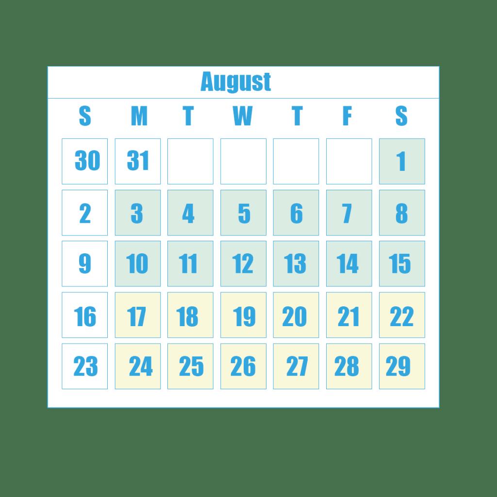 New Term Dates 8