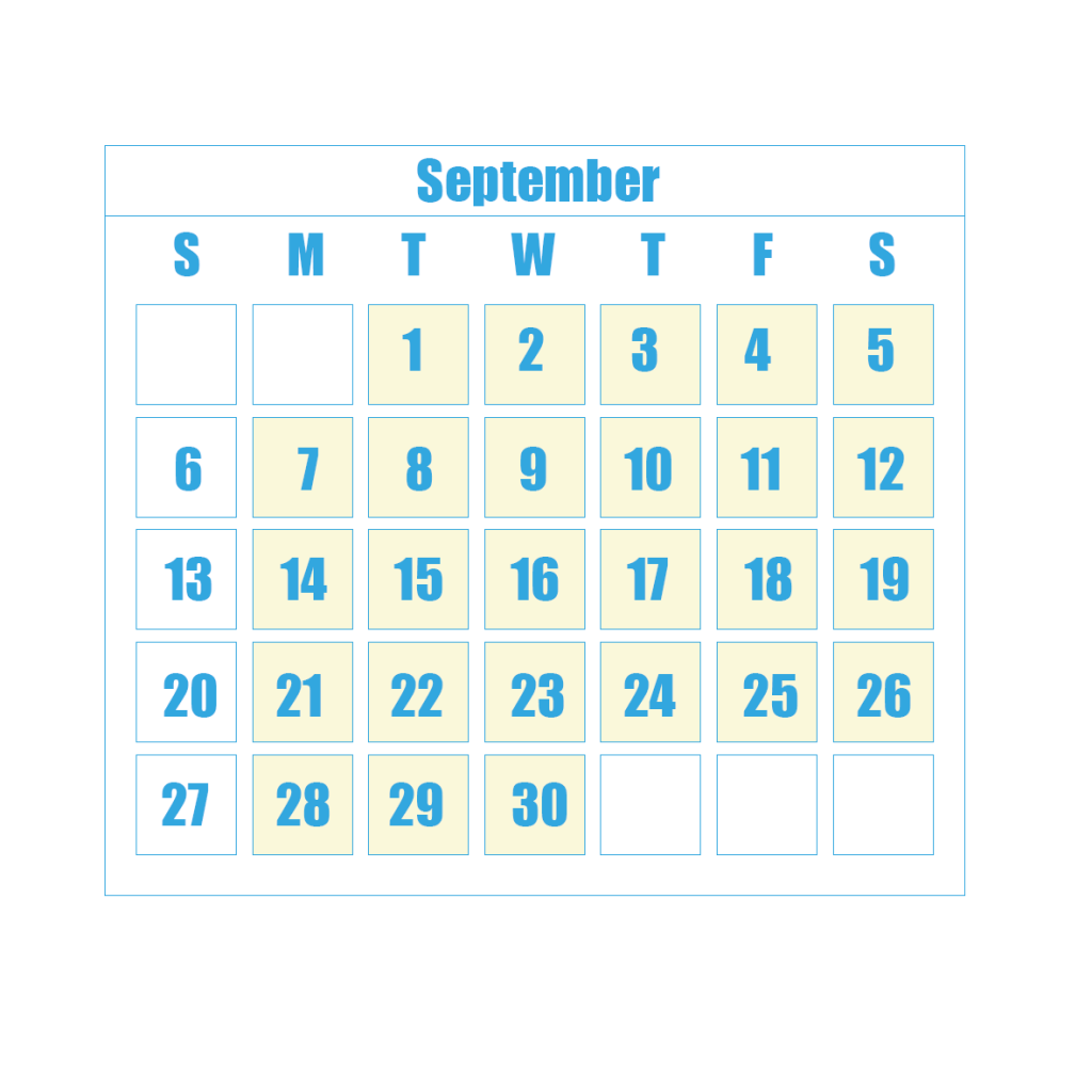 New Term Dates 9